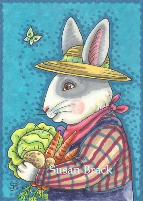 Art: GARDEN HARVEST by Artist Susan Brack