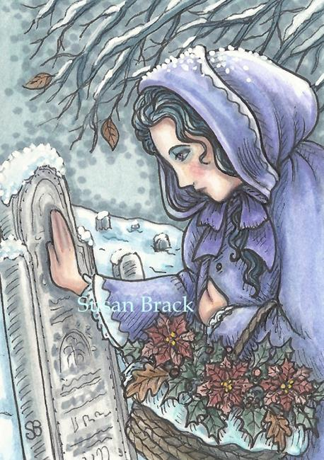 Art: CHRISTMAS THOUGHTS AND PRAYERS by Artist Susan Brack