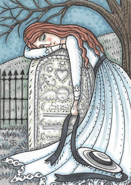 Art: FOREVER DEAR by Artist Susan Brack