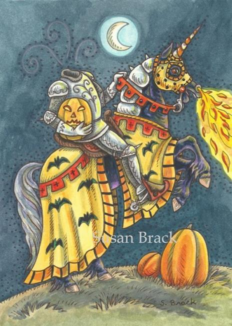 Art: KNIGHT OF SLEEPY HOLLOW by Artist Susan Brack