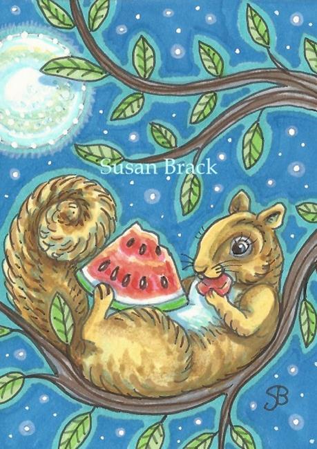 Art: LATE NIGHT SNACK by Artist Susan Brack