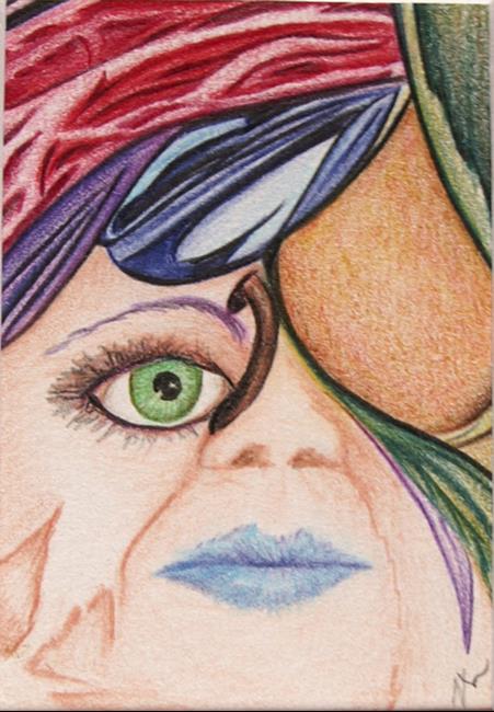 Art: Sweet Mind Toss by Artist Nancy Barnes