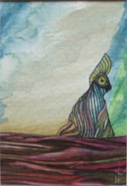 Art: Lib Birdie by Artist Nancy Barnes