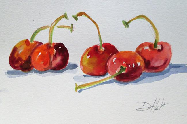 Art: Cherries No. 2 by Artist Delilah Smith