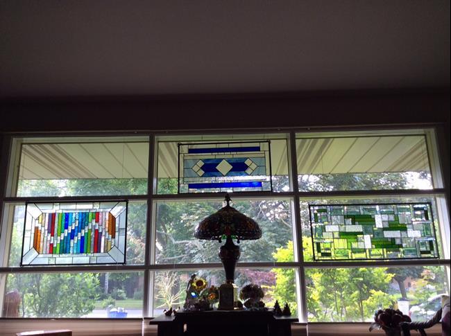 Art: Rosemarys Windowes by Artist Chris Gleim