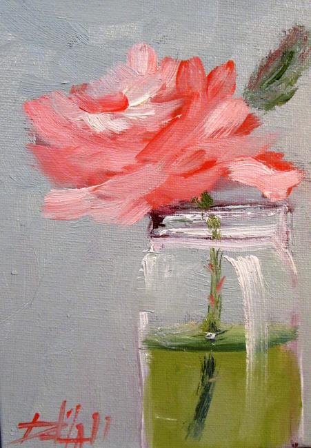 Art: Rose Still Life No. 4 by Artist Delilah Smith