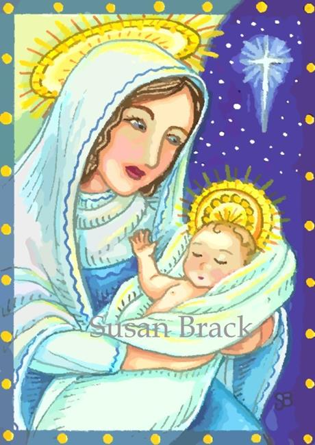 Art: A CHILD IS BORN 2 by Artist Susan Brack