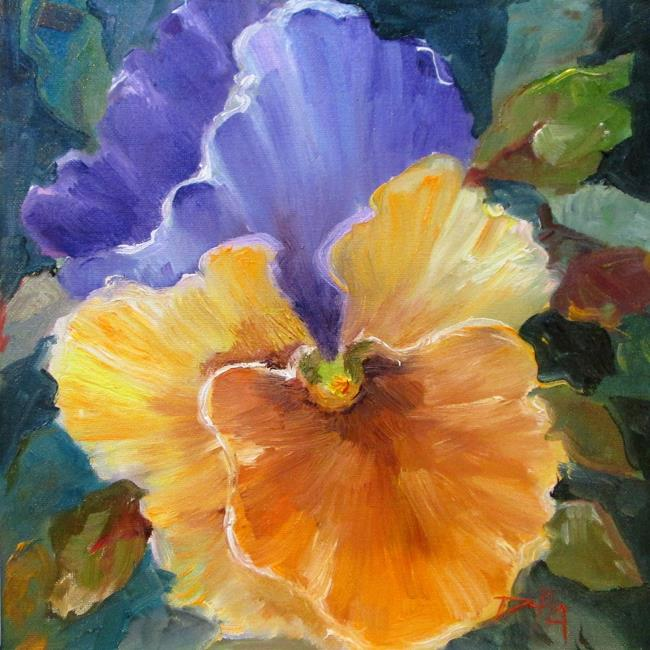 Art: Pansy No 5 by Artist Delilah Smith