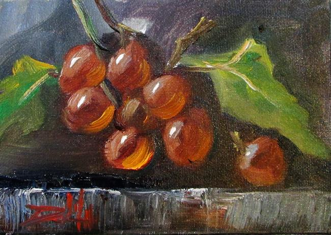 Art: Grapes by Artist Delilah Smith