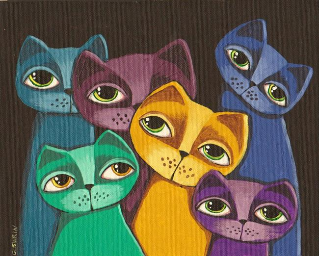 Art: Kitten Color by Artist Cindy Bontempo (GOSHRIN)