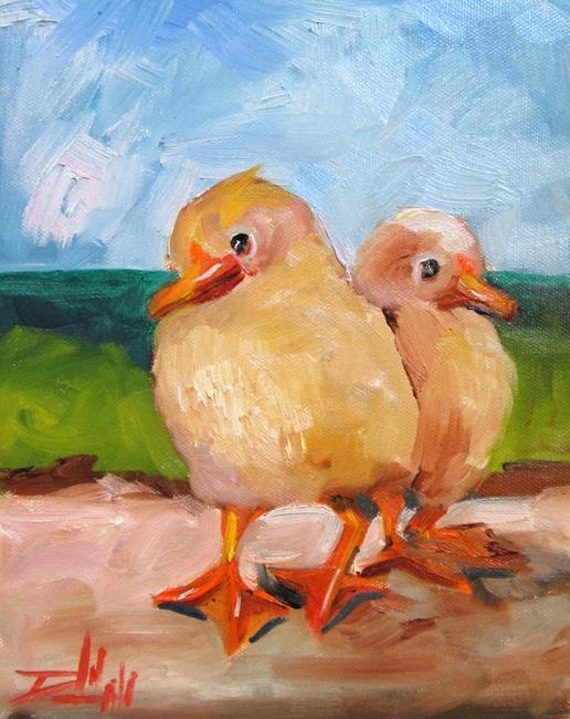 Art: Ducks by Artist Delilah Smith