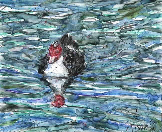 Art: Muscovy Waters by Artist Melinda Dalke