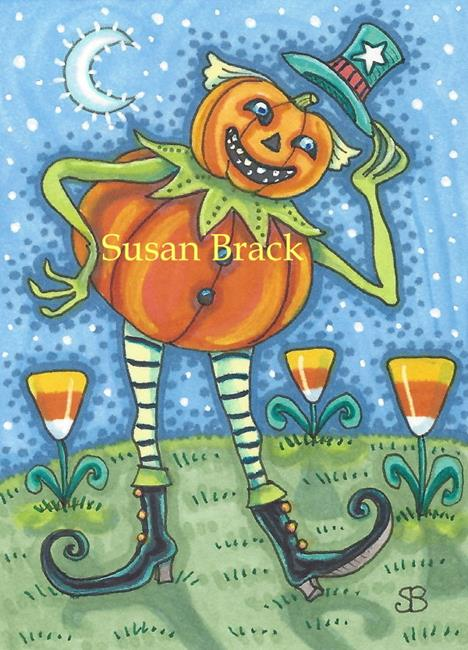Art: TRAVELING JACK by Artist Susan Brack