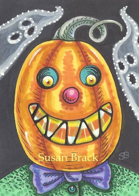 Art: HAPPY JACK AND FRIENDS by Artist Susan Brack