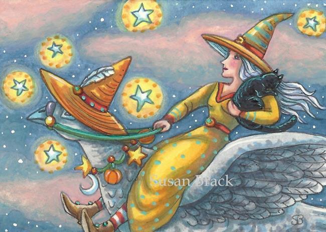 Art: ON WINGS OF MAGIC by Artist Susan Brack