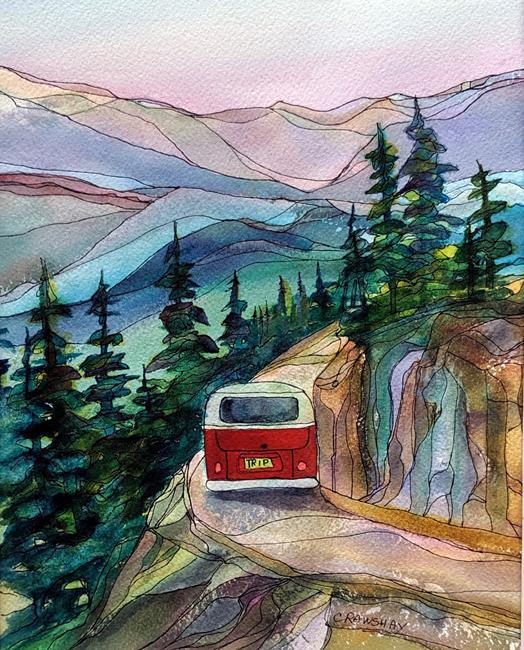 Art: Adventuring by Artist Kathy Crawshay