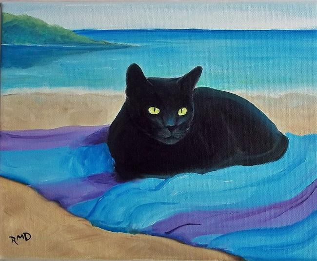 Art: BEACH LOVER by Artist Rosemary Margaret Daunis
