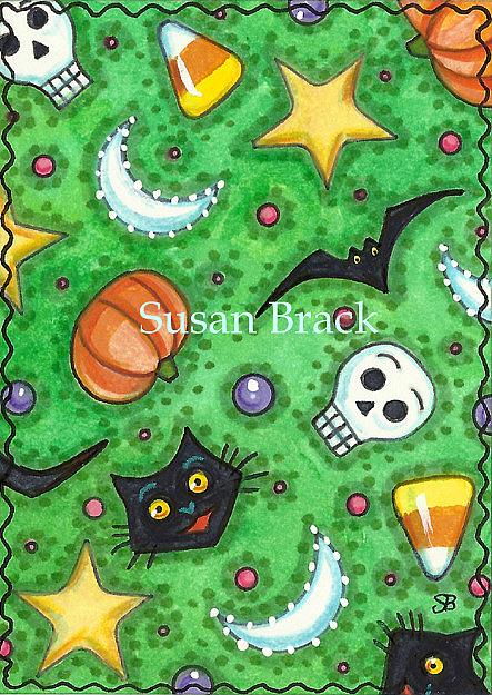 Art: HALLOWEEN HASH by Artist Susan Brack