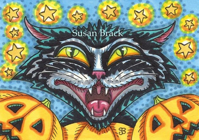 Art: GUARDING THE JACKS by Artist Susan Brack