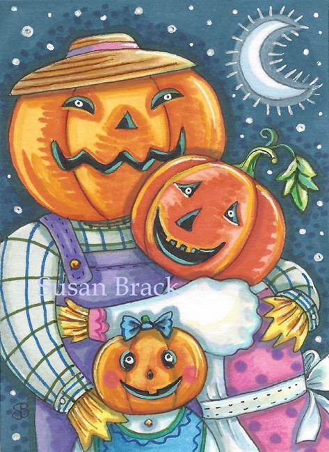 Art: HAPPY JACK FAMILY by Artist Susan Brack