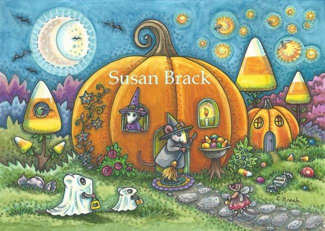 Art: BEGGAR'S NIGHT by Artist Susan Brack