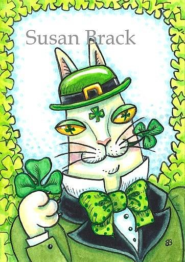 Art: HISS N' FITZ - IRISH THRU AND THRU by Artist Susan Brack