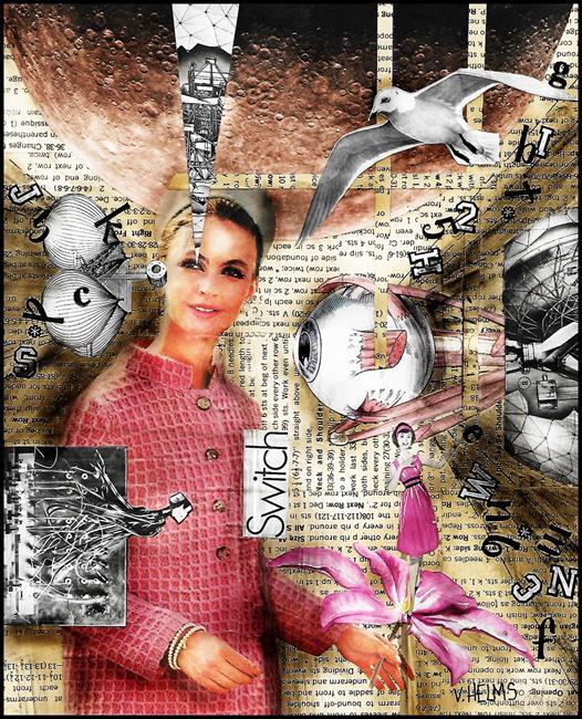 Art: Switch by Artist Vicky Helms