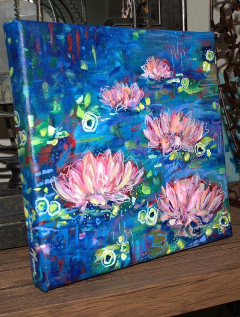 Art: Fair Maidens - Water Lilies series (SOLD) by Artist Dana Marie