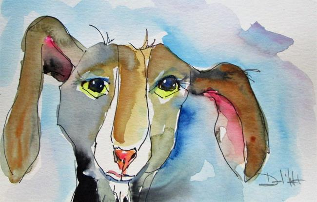 Art: Goat No. 10 by Artist Delilah Smith