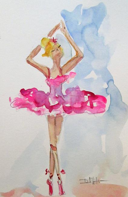 Art: Ballerina No. 12-sold by Artist Delilah Smith