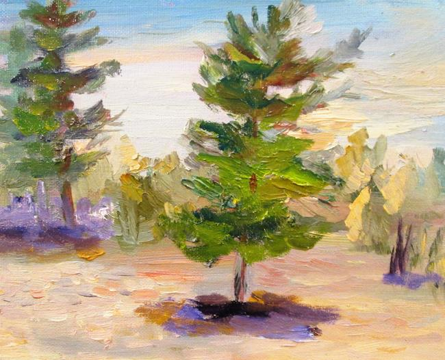 Art: Sand and Pines No. 2 by Artist Delilah Smith