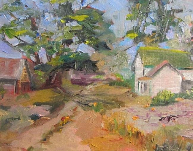 Art: Farm House No. 3 by Artist Delilah Smith