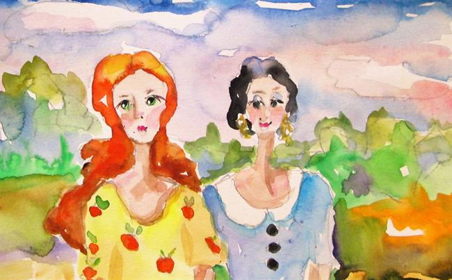 Art: Sisters No. 3 by Artist Delilah Smith