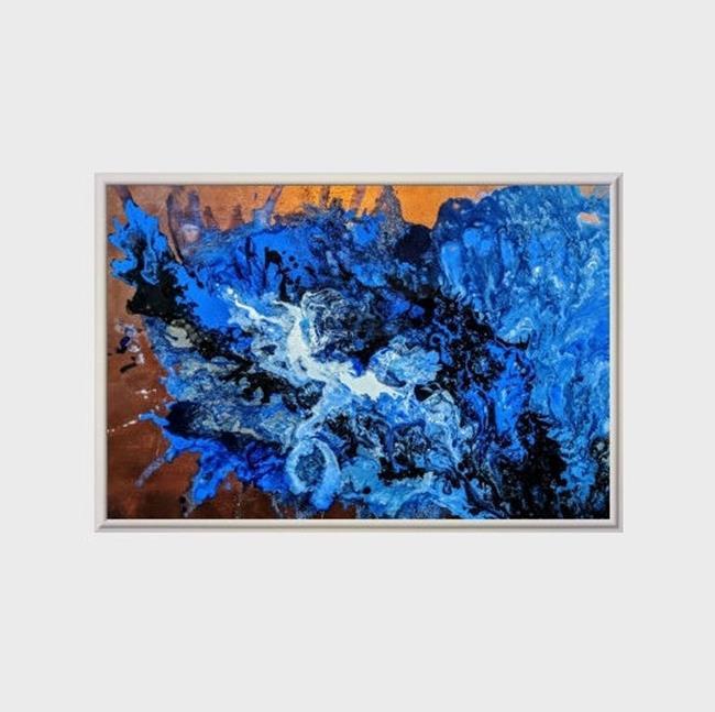 Art: Evening Sonata (sold) by Artist Amber Elizabeth Lamoreaux