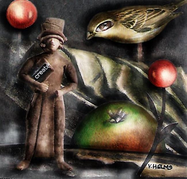 Art: Create by Artist Vicky Helms