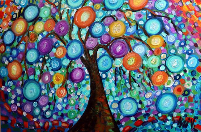 Art: Happy Mornings by Artist LUIZA VIZOLI