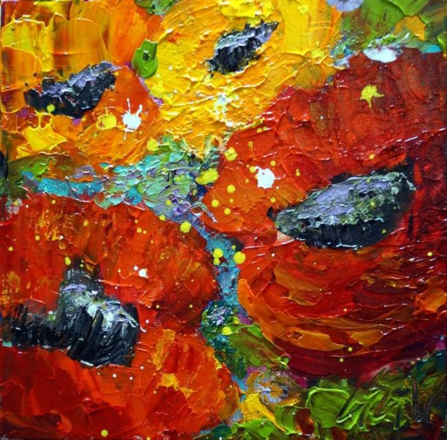 Art: Summer Floral by Artist LUIZA VIZOLI