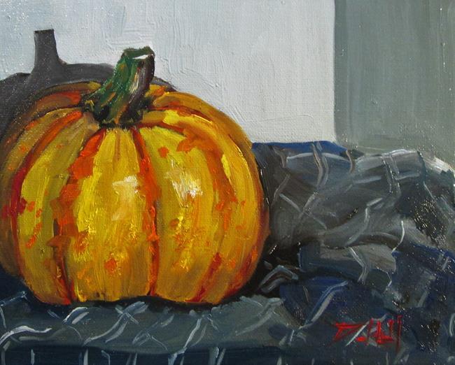Art: Blaze Pumpkin by Artist Delilah Smith