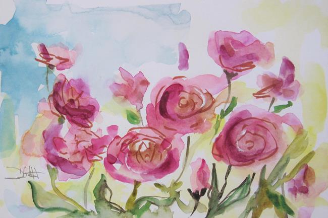 Art: Rose Garden No. 2 by Artist Delilah Smith