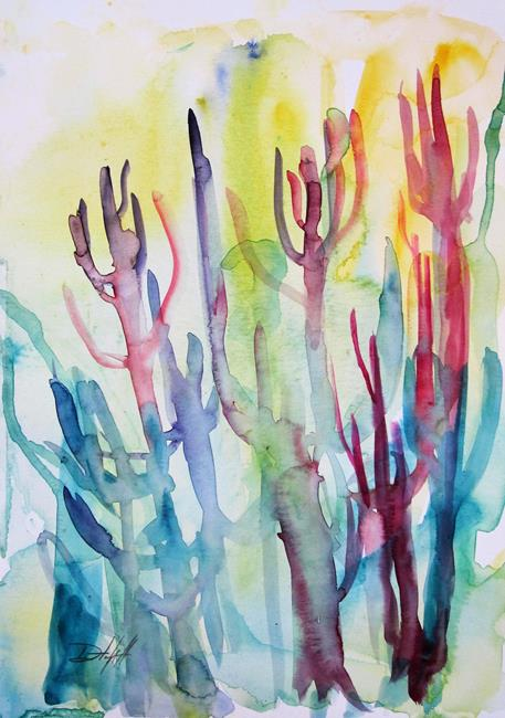 Art: Coral Forest by Artist Delilah Smith