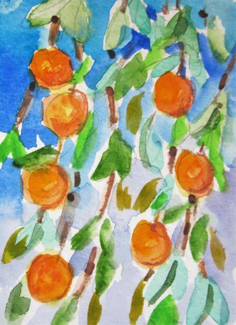 Art: Orange Tree by Artist Delilah Smith