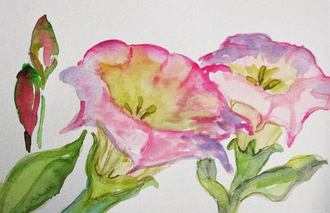 Art: Morning Glory by Artist Delilah Smith