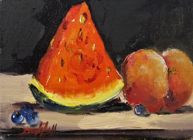 Art: Fruit Still Life No. 2 by Artist Delilah Smith