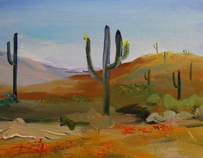 Art: Desert View by Artist Delilah Smith
