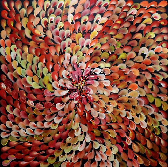 Art: Sunshine Petals to Brighten My Day by Artist LUIZA VIZOLI