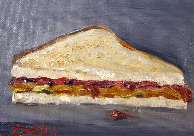 Art: Peanut Butter and Jelly No. 4 by Artist Delilah Smith