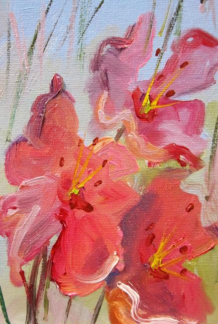 Art: Elusive Lilies by Artist Delilah Smith