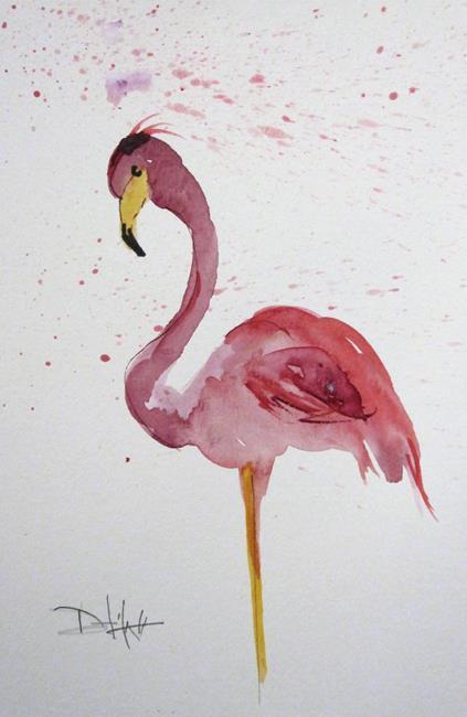 Art: Flamingo No.26 by Artist Delilah Smith