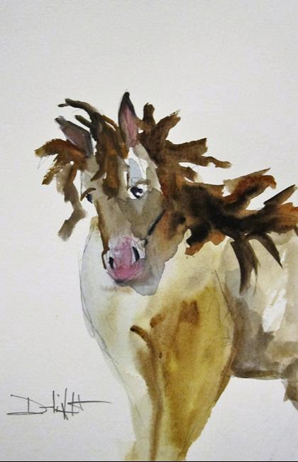 Art: Horse No. 6 by Artist Delilah Smith
