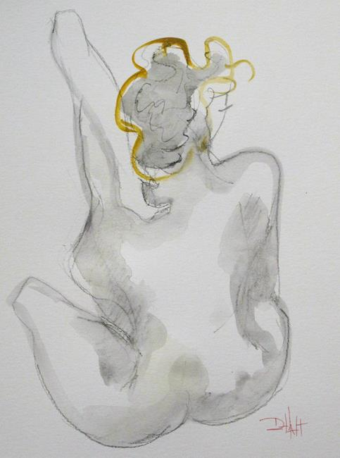 Art: Morning Drawing No. 1 by Artist Delilah Smith